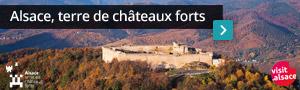 Alsace, terre de châteaux forts