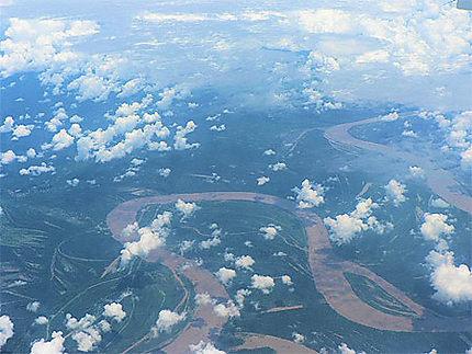L'Amazonie vue du ciel