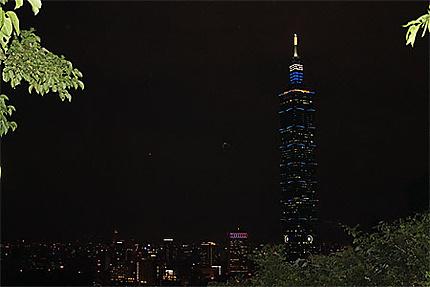 Taïpeï 101 de nuit
