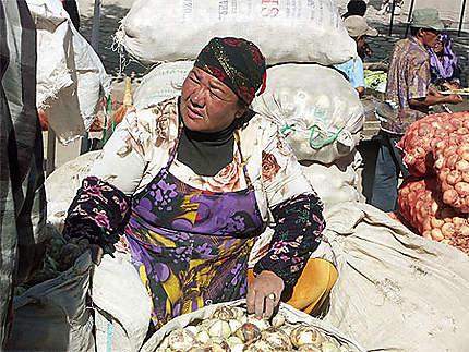 Au bazar Bibi Khanoum