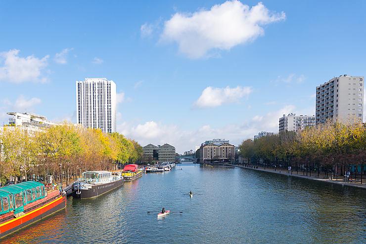 Le bassin de La Villette (19e arrondissement)