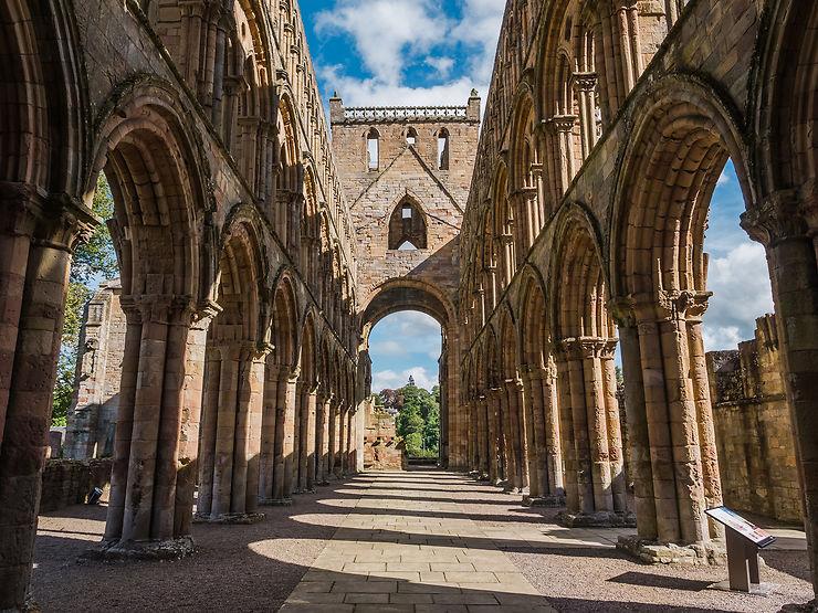 Les Borders et les abbayes de Melrose et Jedburgh