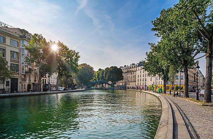 Le canal Saint-Martin (10e arrondissement)