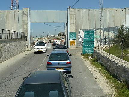 Frontière Cisjordanie-Israel