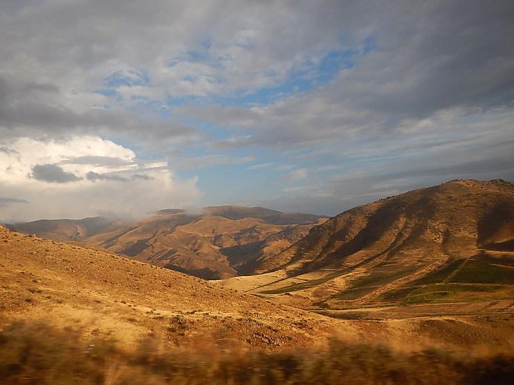 Paysage de Vayots Dzor, Arménie