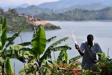 Lac Kivu, Rwanda