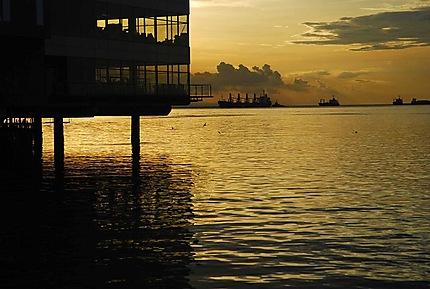 Le port de Manille