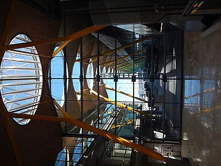 Intérieur de l'aéroport