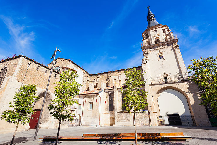 Le Casco Antiguo, la vieille ville de Vitoria-Gasteiz