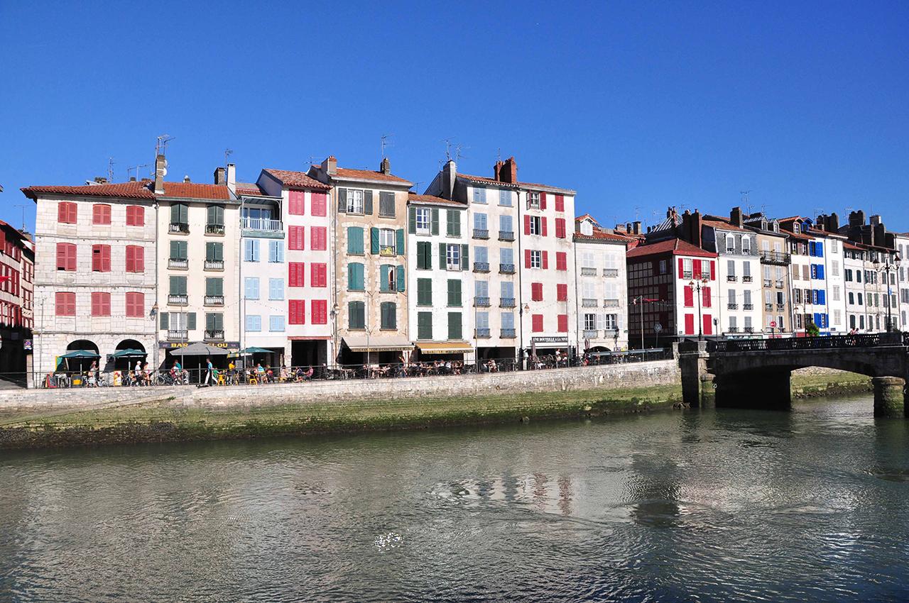 Sur la côte basque, de Bayonne à Hendaye :