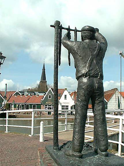Monnickendam - jolie ville située sur les bords de l'Ijsselmeer