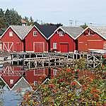 Hangars de pêcheurs