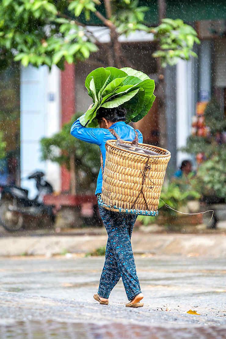Parapluie artisanal