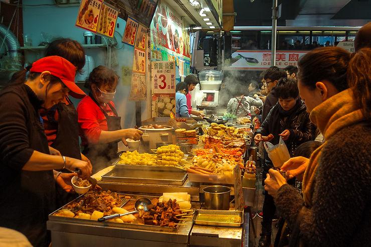 Street-food à Hong Kong