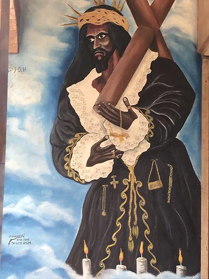 Le christ noir de Portobelo