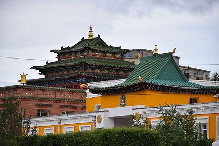Toitures du Monastère de Gandantegchinlen