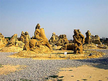 Le Festival de sculptures de sable