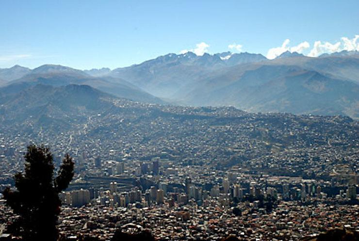 La Paz, étourdissante