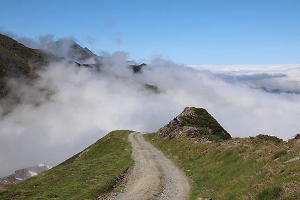 Au-dessus des nuages à Cauterets