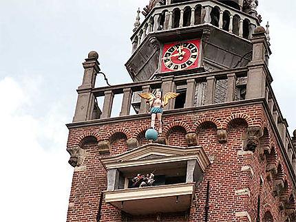 Détail de l'Hôtel de ville (Stadhuis) de Monnickendam