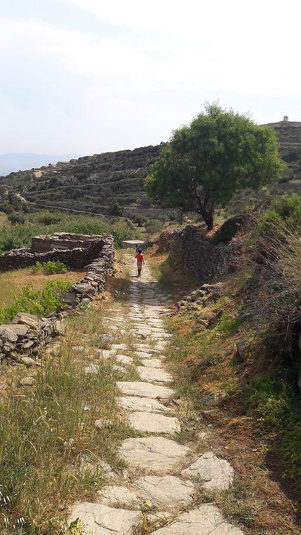 Route bizanthine à Paros