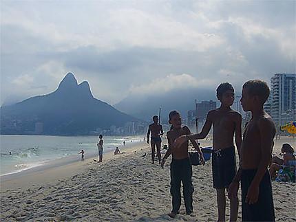 Enfants à Ipanema