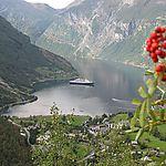 Vue sur le fjord Geiranger