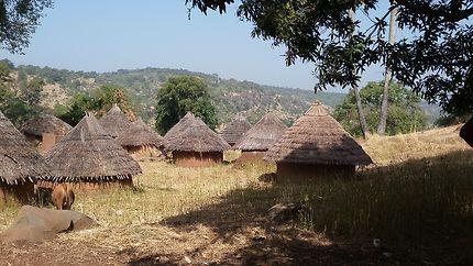 Village Bedik dans les hauteurs
