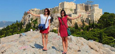 Les P'tites Poucettes, 2 filles en auto-stop - Les p'tites poucettes