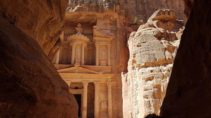 La vieille cité de Petra se dévoile, Jordanie