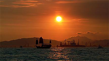 La dernière jonque de Hong Kong