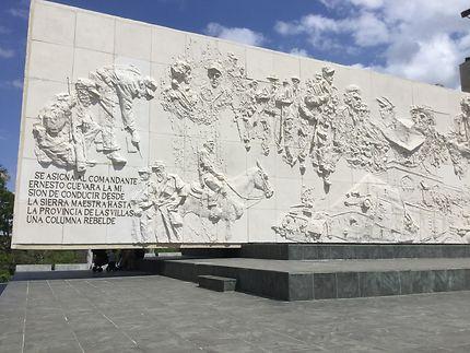 Le monument du Che Guevara