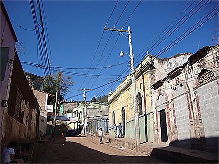 Rue de Tegucigalpa