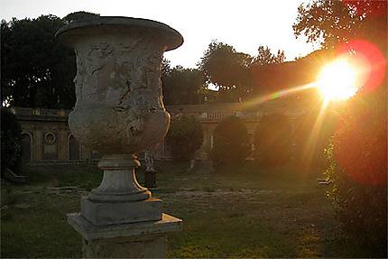 Dernier rayon sur vase romain