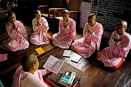 Nonnes de Sagaing
