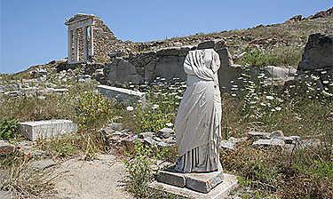Île de Délos (Cyclades)