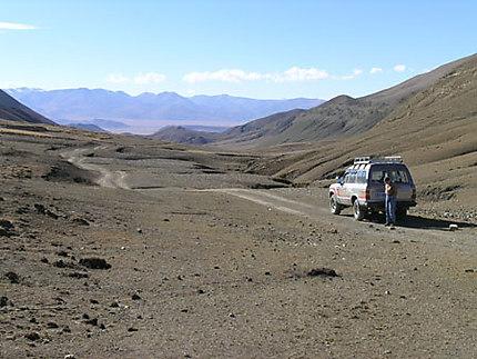 Route pour Tingri