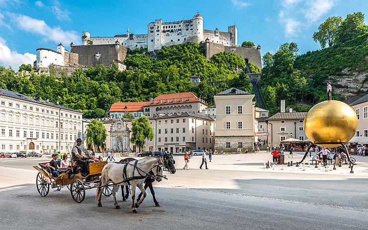 Salzbourg, la ville dont le héros est Mozart