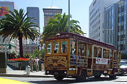 Un trolley à Union Square