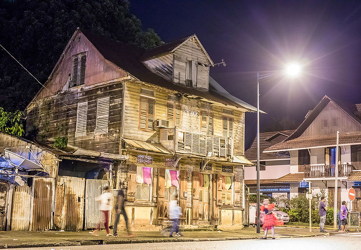 Le centre historique de Cayenne