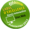 Label d'excellence Harris Interactive Printemps 2015