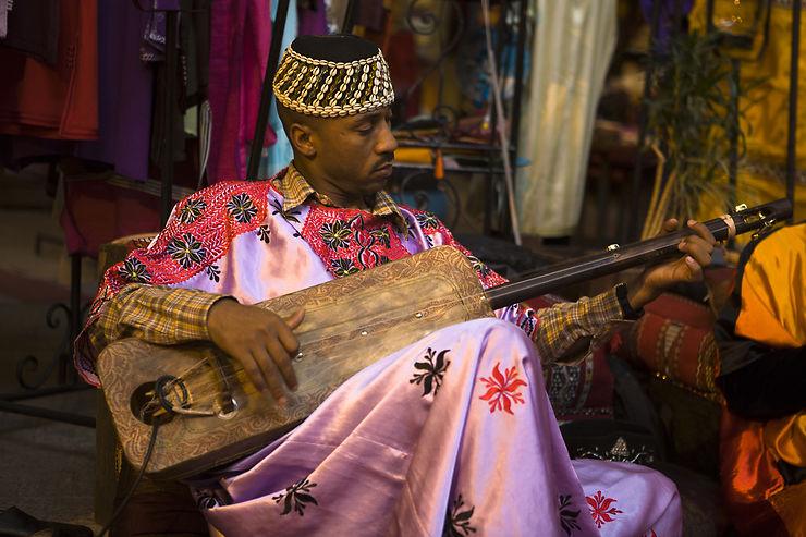 Le gnaoua musical et profane