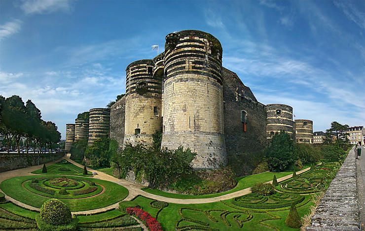 Château d'Angers, Pays de La Loire
