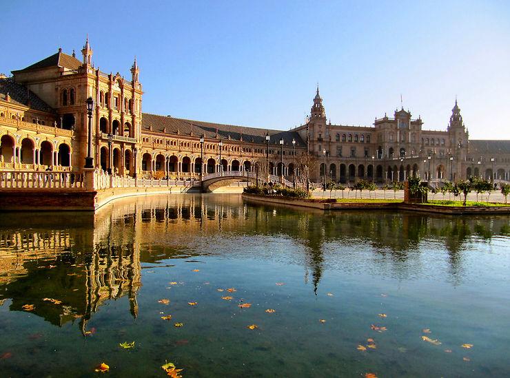La place d'Espagne, Séville
