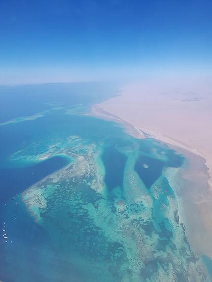 Vol au dessus de Sharm el Cheikh