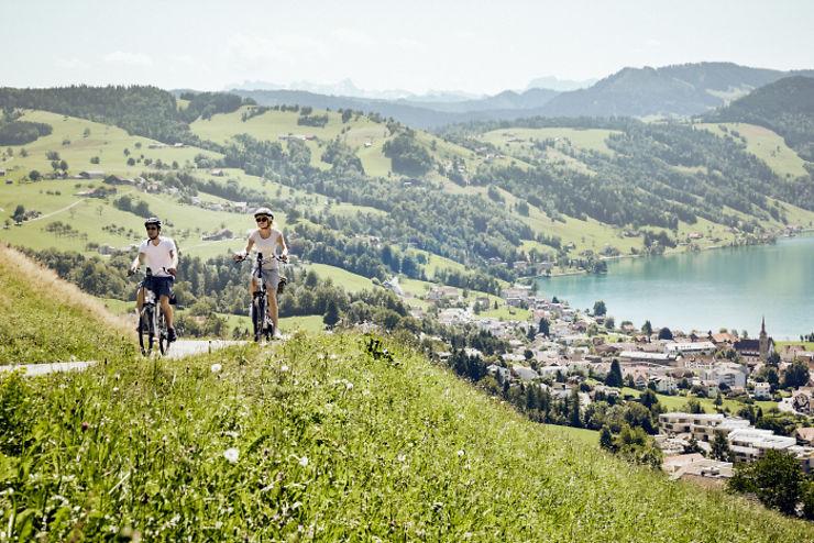 Suisse - Le Suisse à vélo : 11 000 km d'itinéraires balisés