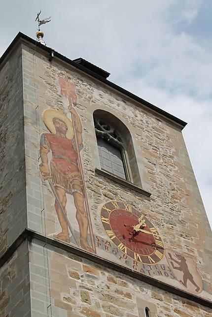 Clocher de l'église Saint Maurice