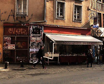 Rue du centre de Rennes
