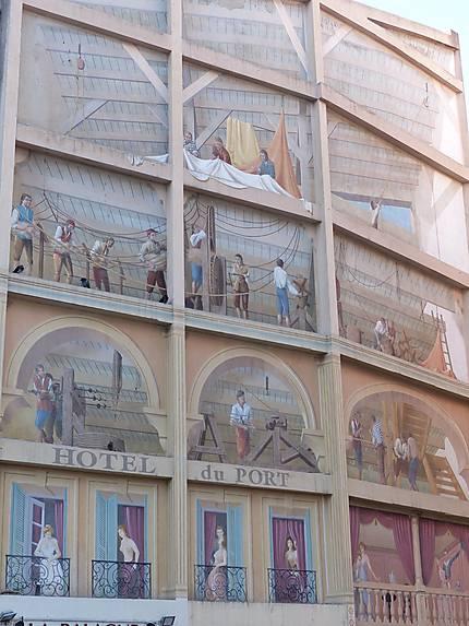 Street art Hotel du port