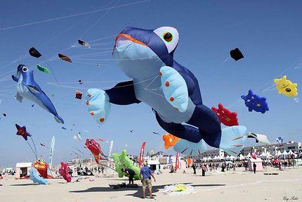 Concours de cerfs-volants à Berck-sur-Mer